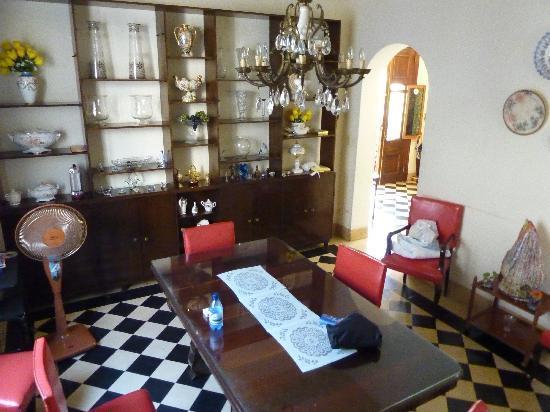 Casa Mayda Bellon: Esszimmer