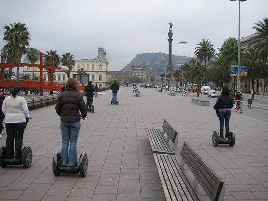 Barcelona Segway Glides : On the tour