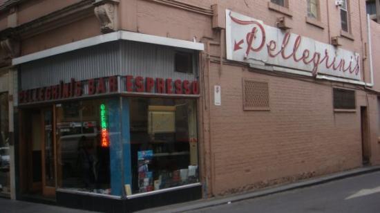 Pellegrini's Espresso Bar: A pasta lunch at Pellegrinis...