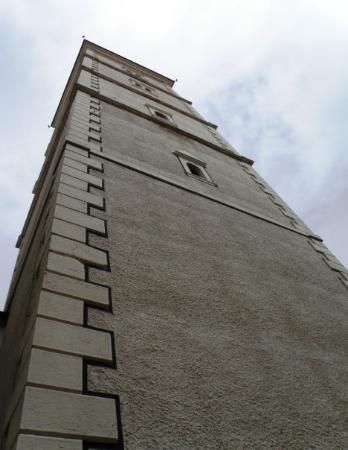 โบสถ์เซนต์มาร์ค: The bell tower of St. Marco's church...