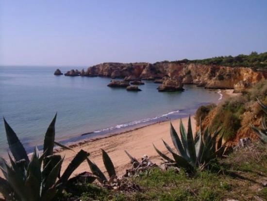 Praia da Rocha, Portugal: Praia do Vau