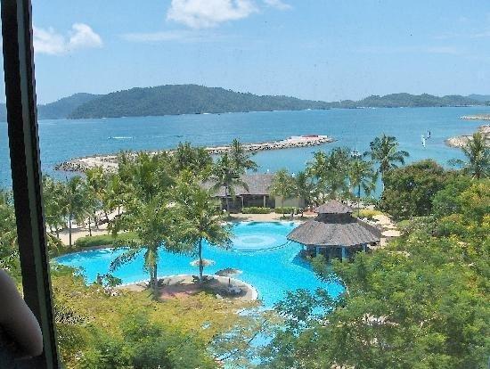 View From The Pacific Sutera Hotel Kota Kinabalu Sabah Malaysia