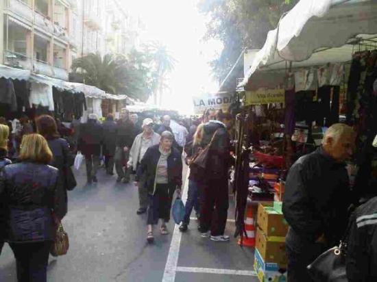 The market in Ventimiglia.