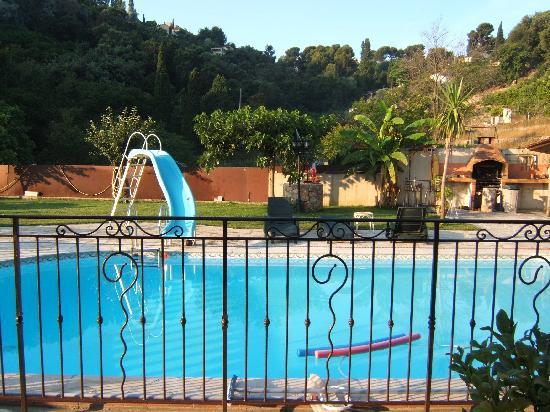 La villa Morena : Sympa la piscine...