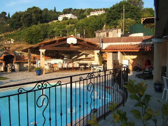 La villa Morena: Et ce cadre enchanteur !!!