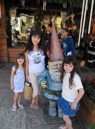 La Cumbrecita, Argentina: Los 4 gnomos...
