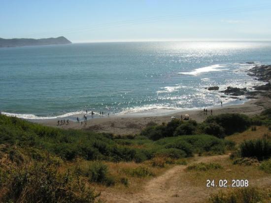 Valdivia: playa de los enamorados (2), cerca de Niebla