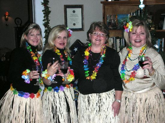 The Inn of the Patriots B & B: The Girls are Ready for a Party