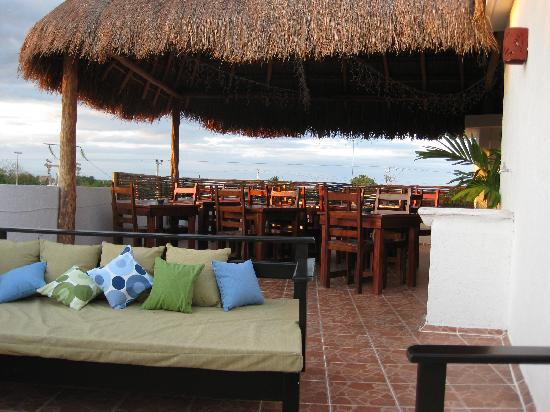 Posada Luna del Sur: The view from our favorite spot on the rooftop deck