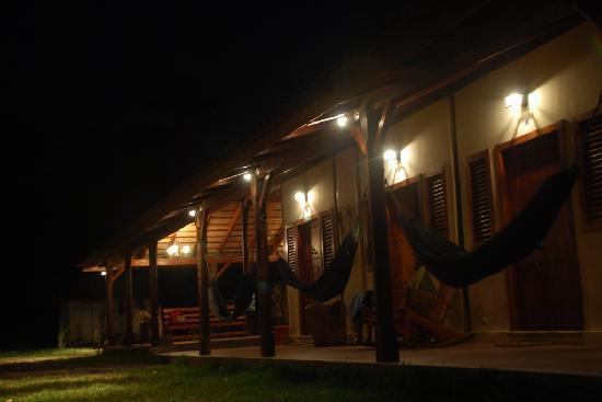 Finca San Juan de la Isla: Nightshot of the rooms