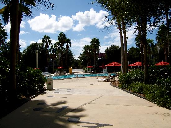 Disney's All-Star Music Resort: One of the two pools (the smaller of the 2)