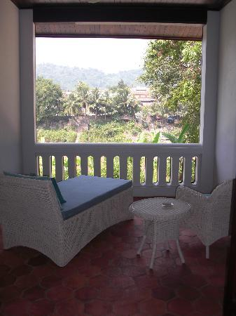The Apsara Rive Droite: Balcony