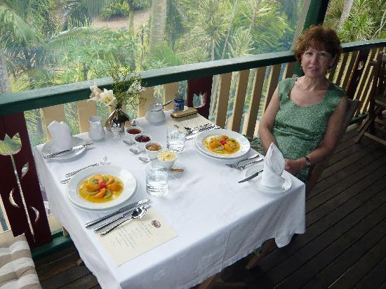 Musavale Lodge: Breakfast