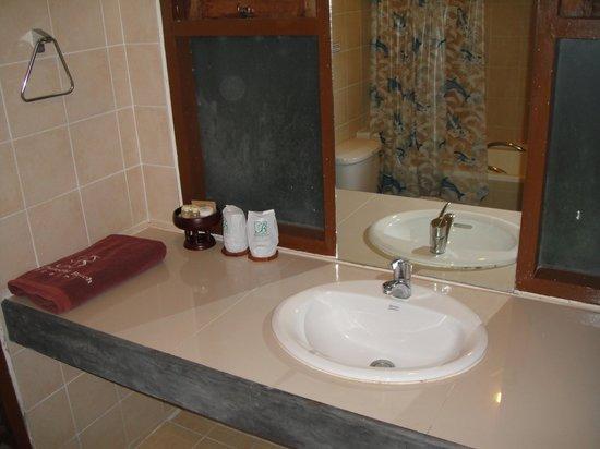 بي2 @ ساموي بيتش ريزورت: Bathroom