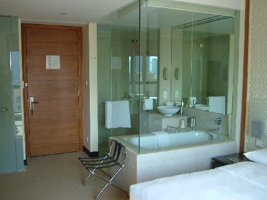 Vida Downtown: Glass Partition For Bathroom