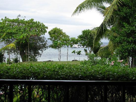 DACOZY Beach Resort: View from deck