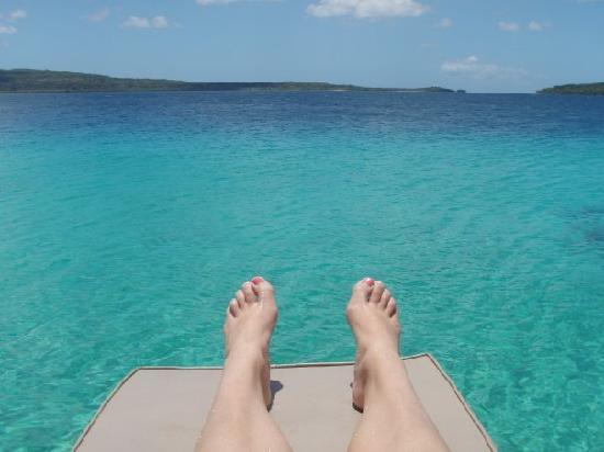 The Havannah, Vanuatu: The water is amazing....