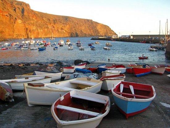 La Gomera - Valle Gran Rey harbour
