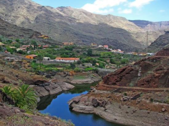 Small town on La Gomera