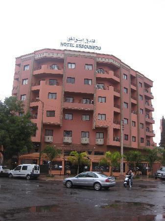 Assounfou Apart-Hotel: view
