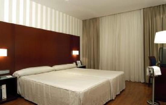 Hotel Zenit Malaga: Detalle de las habitaciones