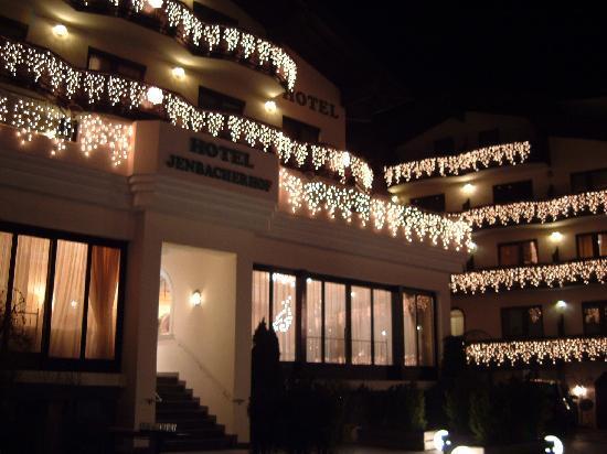 Christmas Lights at Hotel Jenbacherhof