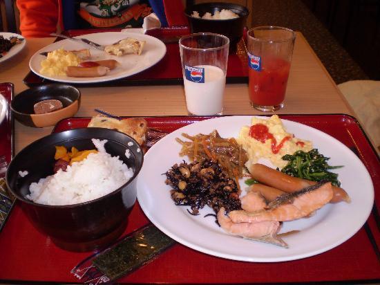 Kamenoi Hotel Yamaguchi Shimonoseki: 朝食バイキングです