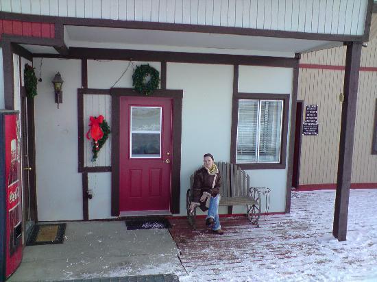 Valley Hi Motel : Eingang zur Reception