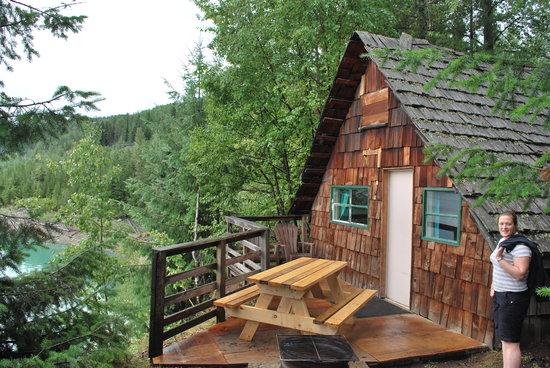 Beavermouth, Canada: Log Cabin
