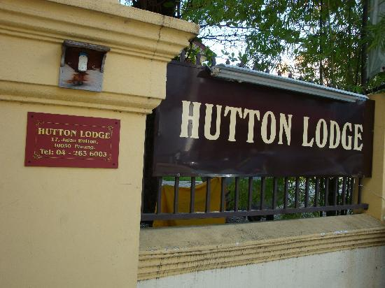 Hutton Lodge: entrance of the lodge