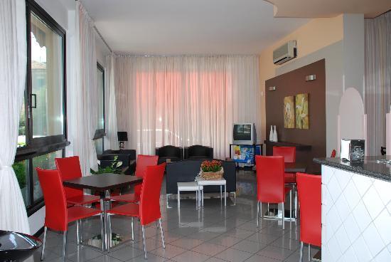 Hotel Stella d'Oro : hall dell'hotel