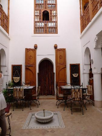 Riad Slawi : Dining area
