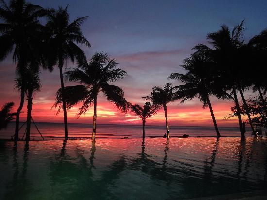 KC Grande Resort & Spa: Sonnenuntergang