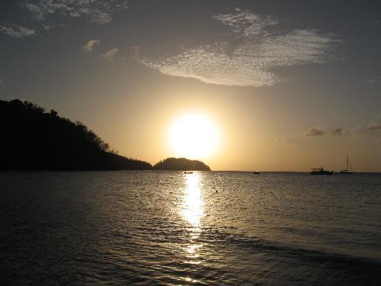 Domaine de l'Anse Ramier: Bucht