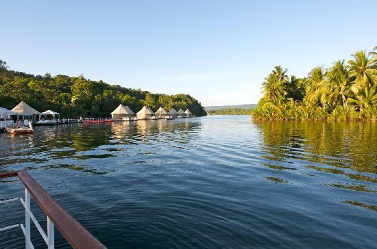 4 Rivers Floating Lodge: Morning At The Eco-Lodge
