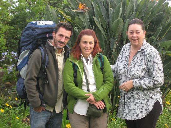 Leo's Resort Camping & Caravan Park : Debbie, Pat and Marco