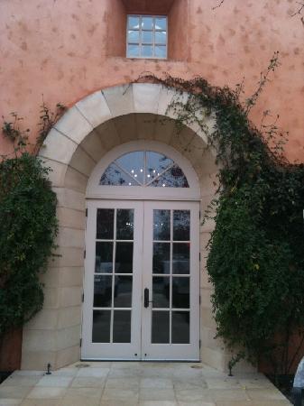 Swanson Vineyards Salon: the entrance
