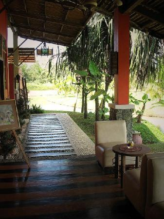 Rafael Farm: lounge area