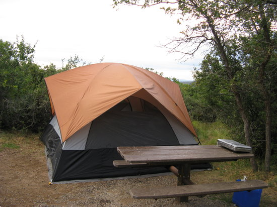 Black Canyon of the Gunnison National Park, South Rim Campground: Campsite on Loop C