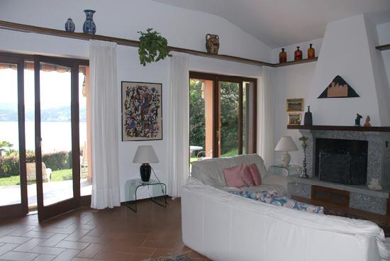 Villa Pinin: salone
