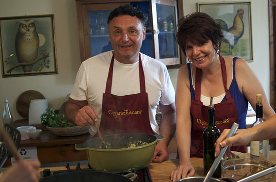 Organic Tuscany Cooking Classes