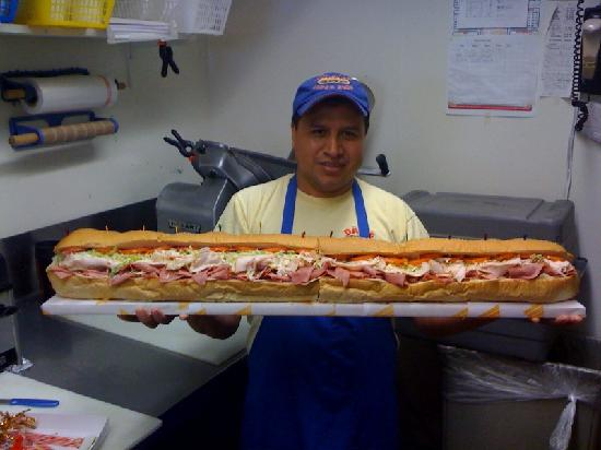how to make a 6 foot sub