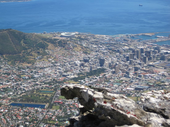Table Mountain Walks: View from the top