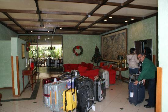 Hotel Los Navegantes: Lobby