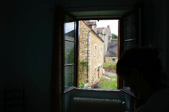 Hotel Delpeyrat: Vu sur le jardin depuis la chambre
