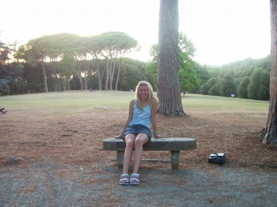 Montecatini Terme, Italia: Montekatinis. Parkiukas