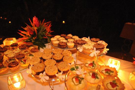 Florblanca Resort: cupcakes/tarts