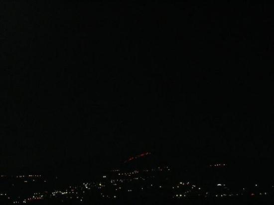 Fiumefreddo di Sicilia, Italy: Etna Vulcano @ night, Sicily, Italy