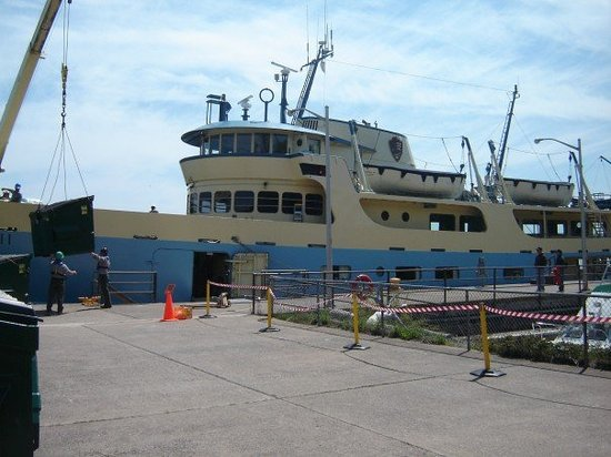 Rock Harbor: This is the Ranger III, The Vessel Which Bore us to the Island
