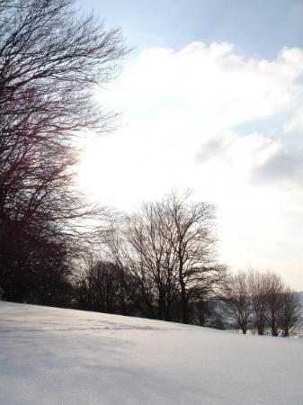 Heidenheim, Germany: Steinheim winter landscape...ahhh